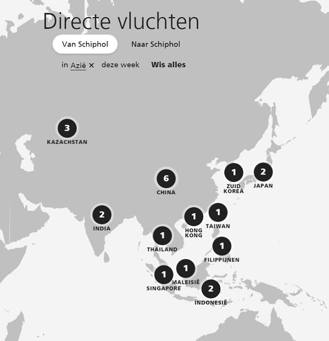 luchthaven lelystad kaart vliegroutes